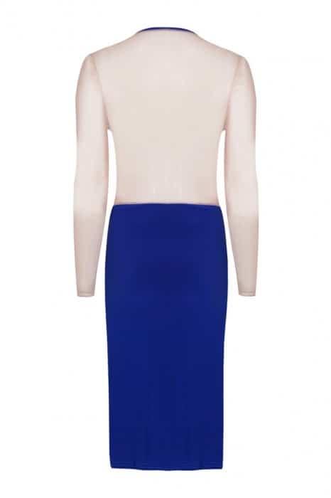 empress-over-midi-dress-long-sleeve-cobalt-blue-front