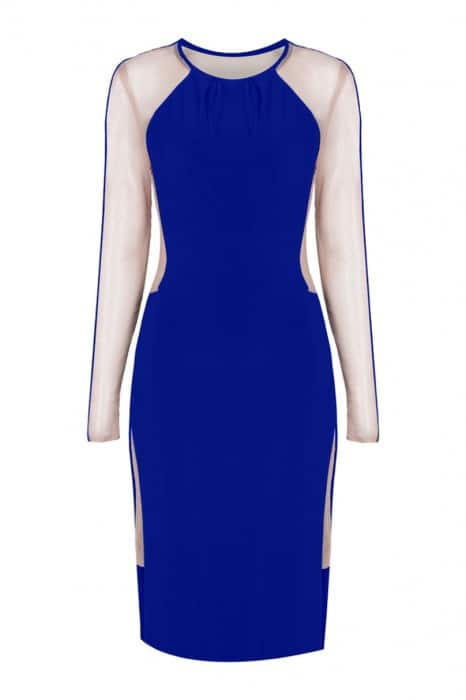 empress-over-midi-dress-long-sleeve-cobalt-back