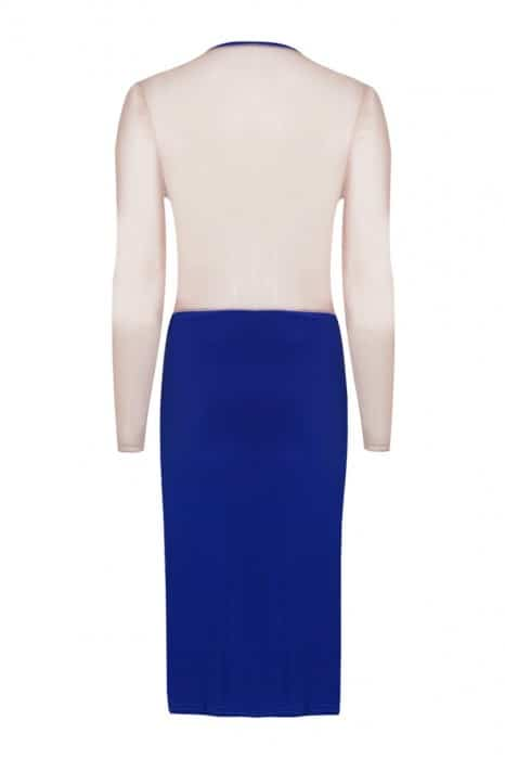 empress-over-midi-dress-long-sleeve-cobalt-blue-front