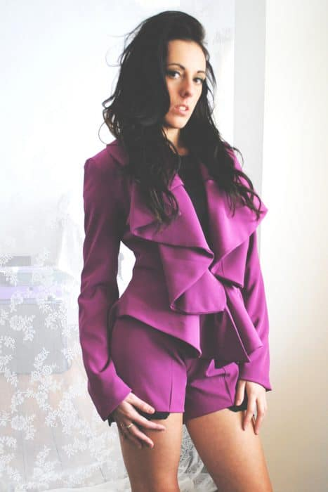 Housewives Tailored Jacket Pink