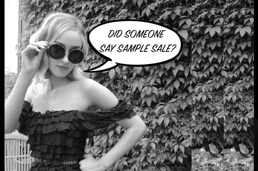 Roc and Doll Sample Sale